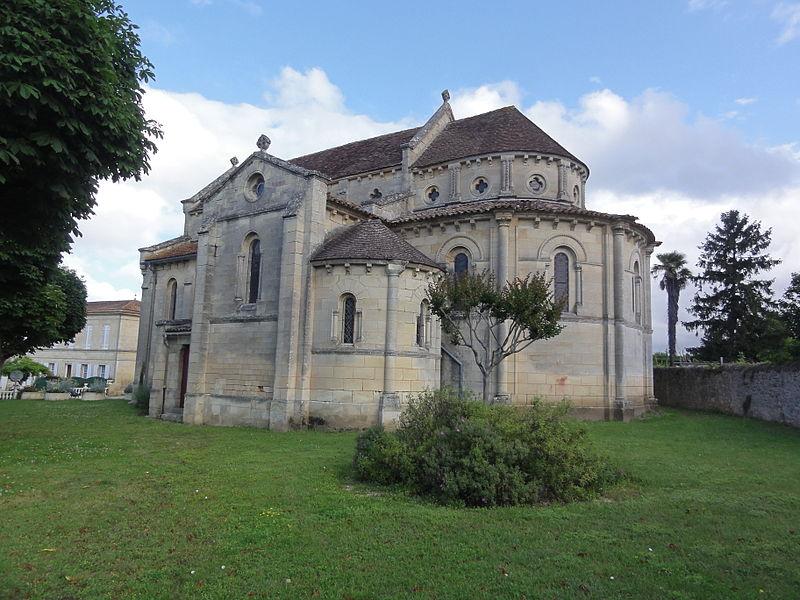 Photo du Monument Historique Eglise Saint-Vincent situé à Villeneuve