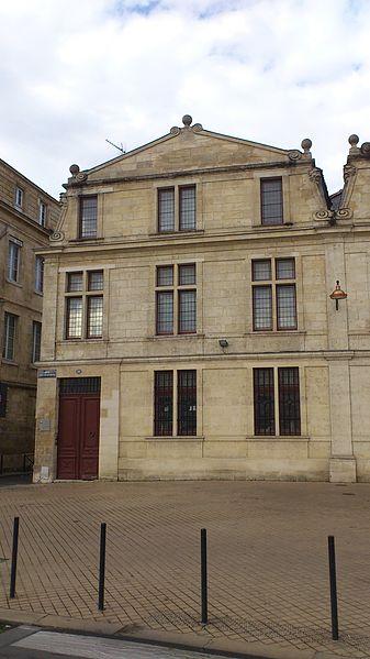 Photo du Monument Historique Maison dite hollandaise situé à Bordeaux