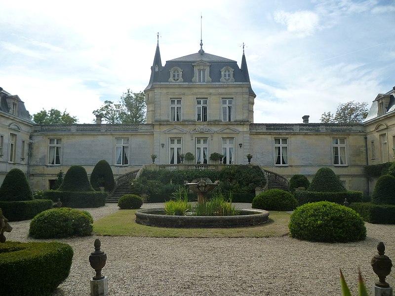 Photo du Monument Historique Château de Malleret situé à Cadaujac