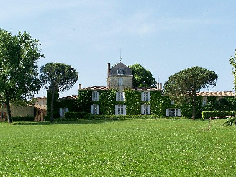 Photo du Monument Historique Domaine de Malagar, actuel centre culturel François Mauriac situé à Saint-Maixant