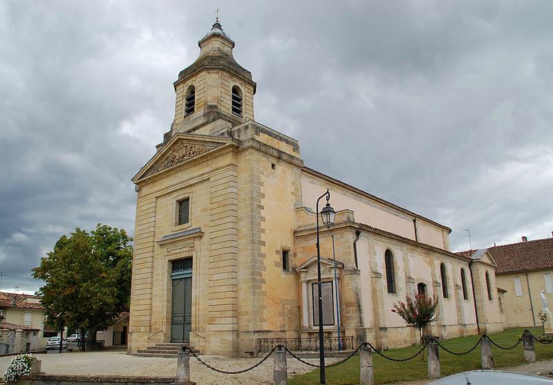 Photo du Monument Historique Eglise Saint-Didier situé à Cantenac