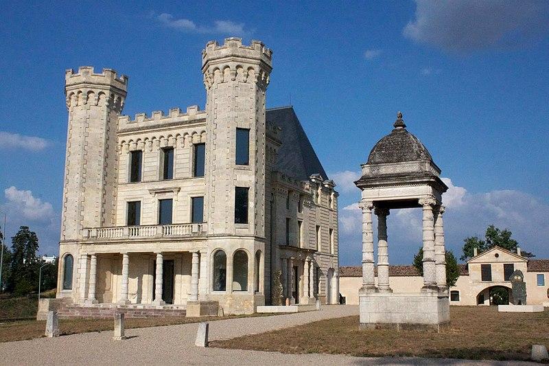 Photo du Monument Historique Ancien château situé à Lormont