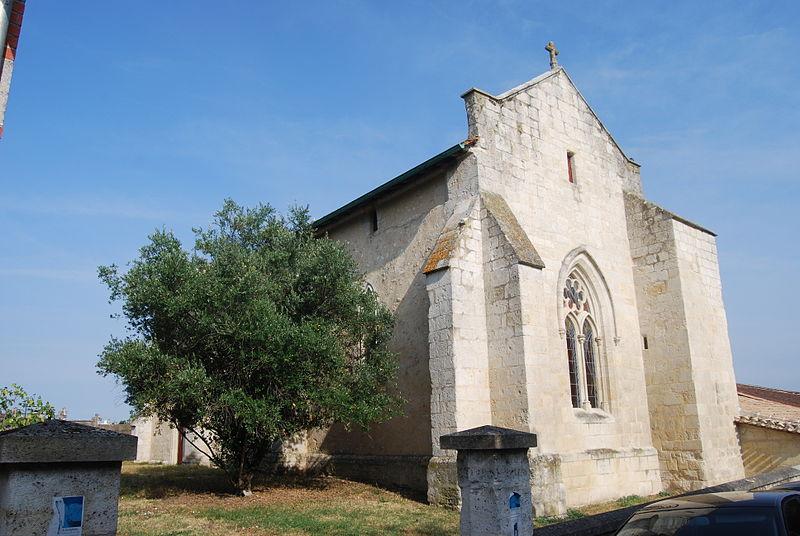 Photo du Monument Historique Chapelle Saint-Loup situé à Saint-Loubès