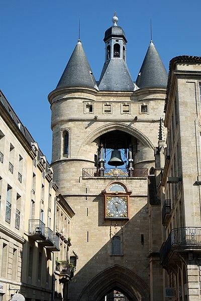 Photo du Monument Historique Enceinte médiévale situé à Bordeaux