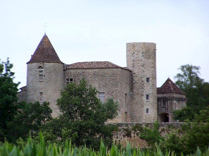 Photo du Monument Historique Château du Puch de Gensac situé à Pellegrue