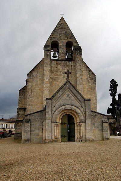 Photo du Monument Historique Eglise Saint-André situé à Cénac