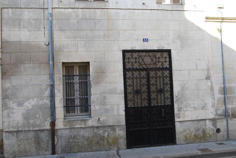 Photo du Monument Historique Synagogue situé à Libourne
