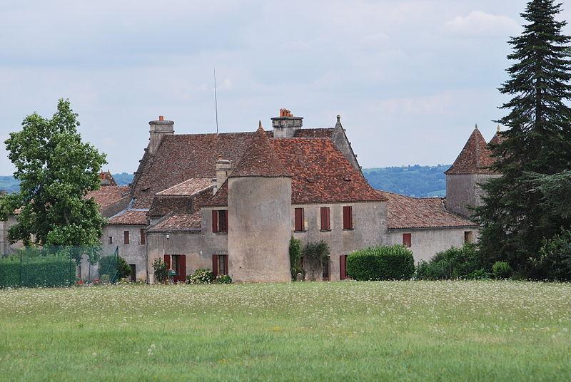 Photo du Monument Historique Château de Castagens situé à Belvès-de-Castillon