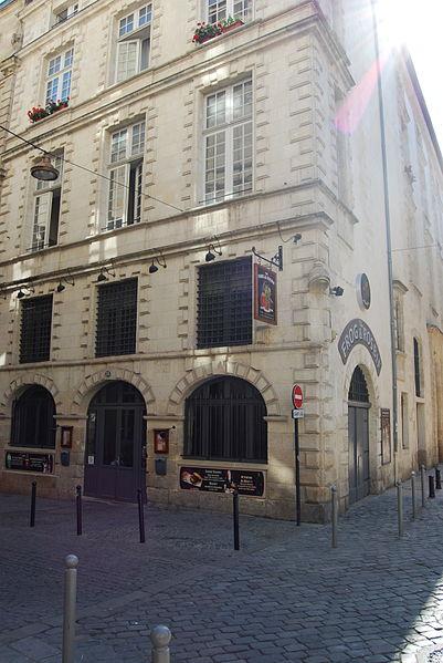 Photo du Monument Historique Immeuble dit Maison Acquart situé à Bordeaux