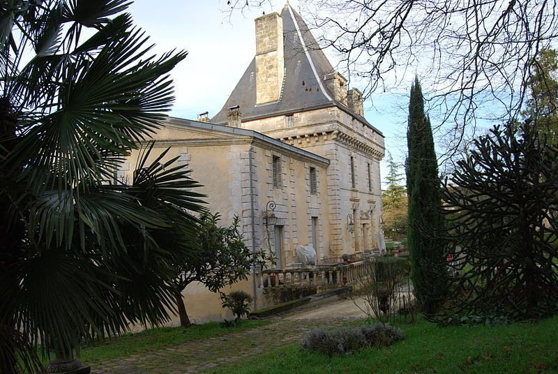 Photo du Monument Historique Château de Lislefort situé à Lignan-de-Bordeaux