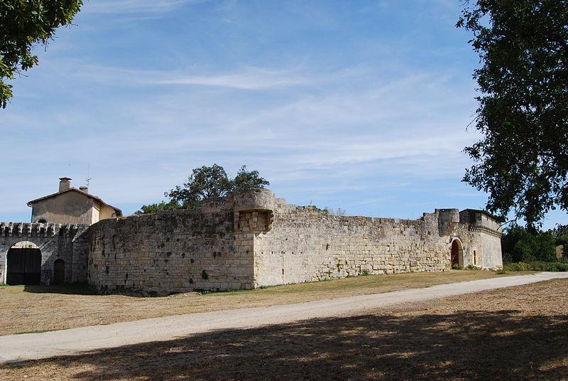 Photo du Monument Historique Château de Bisqueytan situé à Saint-Quentin-de-Baron