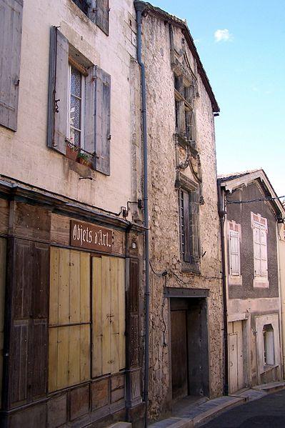 Photo du Monument Historique Maison situé à Bazas