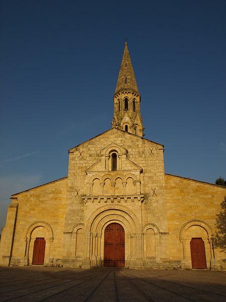 Photo du Monument Historique Eglise Saint-Jean d'Etampes situé à La Brède