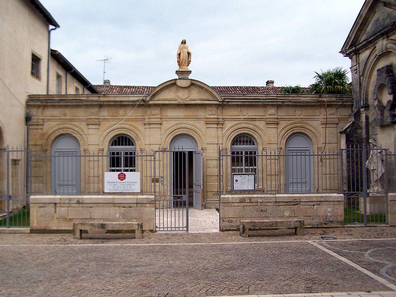 Photo du Monument Historique Site de pèlerinage de Verdelais : Ancien couvent des Célestins situé à Verdelais