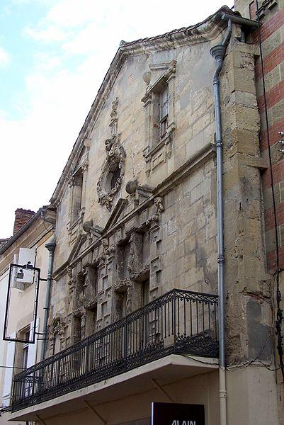 Photo du Monument Historique Maison du 16e siècle situé à Langon