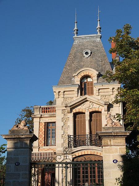 Photo du Monument Historique Maison dite Villa Jeanne situé à Le Bouscat