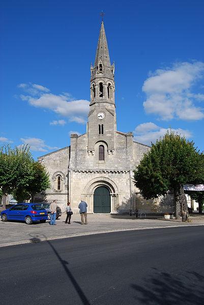 Photo du Monument Historique Eglise paroissiale Saint-Martin situé à Cambes