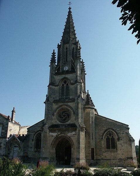 Photo du Monument Historique Eglise Saint-Vincent situé à Floirac