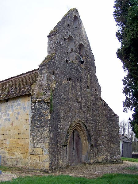Photo du Monument Historique Eglise Saint-Pierre-ès-Liens de Fossès situé à Fossès-et-Baleyssac