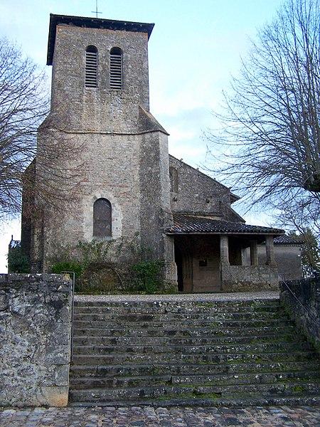 Photo du Monument Historique Eglise Notre-Dame situé à Gironde-sur-Dropt