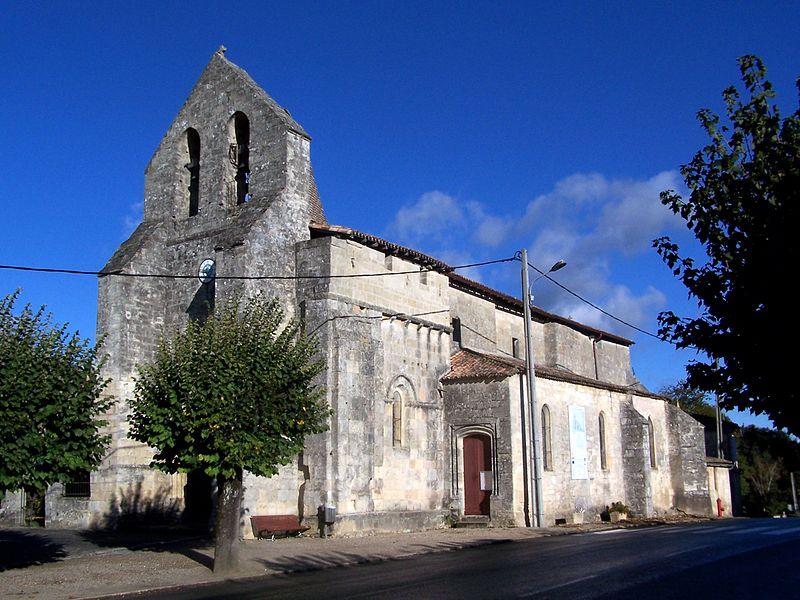 Photo du Monument Historique Eglise paroissiale Saint-Pierre situé à Naujan-et-Postiac
