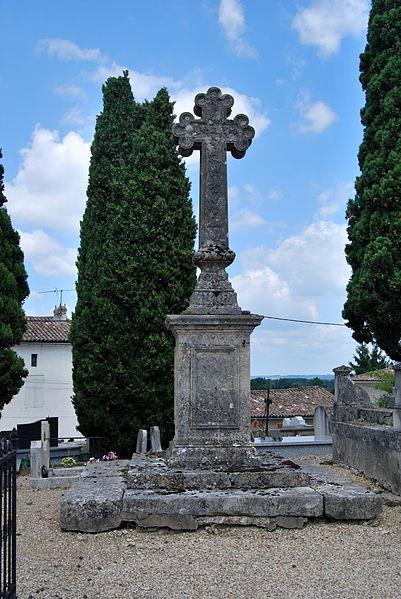 Photo du Monument Historique Croix de cimetière situé à Saint-Jean-de-Blaignac