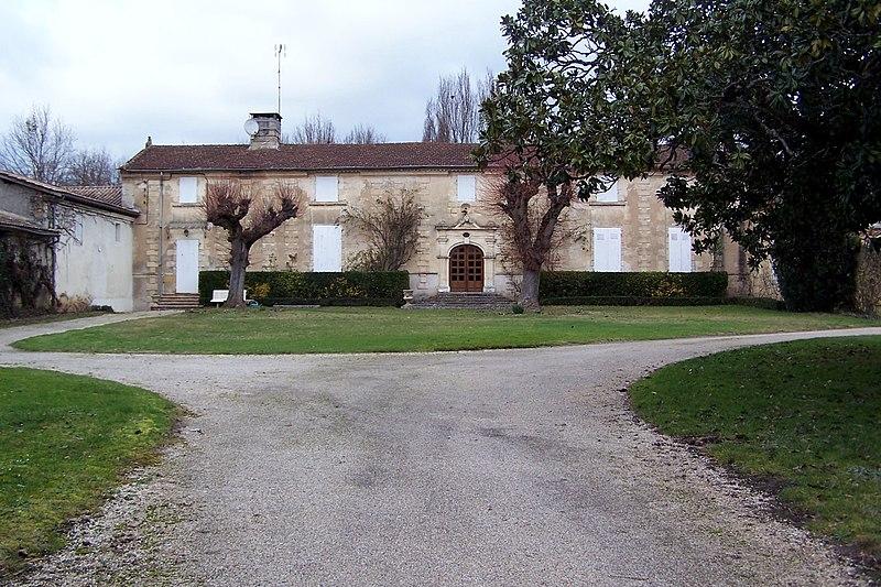 Photo du Monument Historique Domaine de Bellecroix situé à Le Pian-sur-Garonne