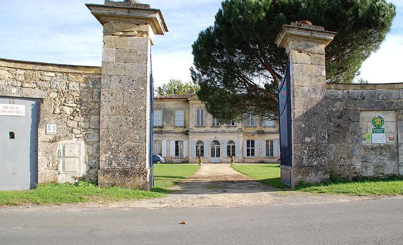 Photo du Monument Historique Château de Couloumey situé à Beautiran