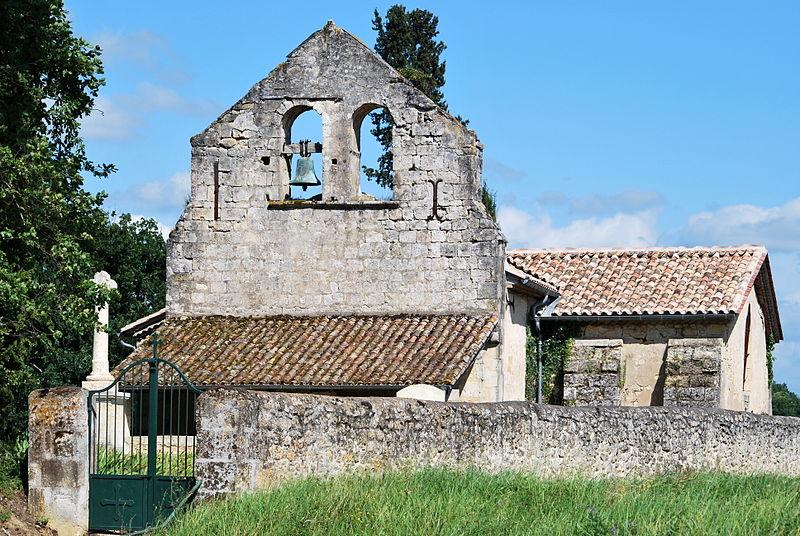 Photo du Monument Historique Eglise Saint-Laurent situé à Bossugan