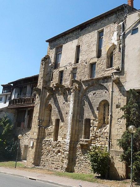 Photo du Monument Historique Maisons médiévales situé à Réole (La)
