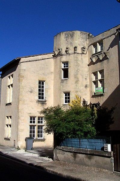 Photo du Monument Historique Maison dite Maison de Gassies situé à Saint-Macaire