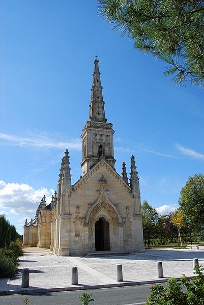 Photo du Monument Historique Eglise Saint-Vincent-de-Paul situé à Saint-Vincent-de-Paul