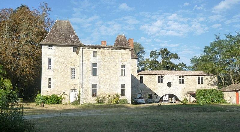 Photo du Monument Historique Château de Sallegourde situé à Villenave-d'Ornon
