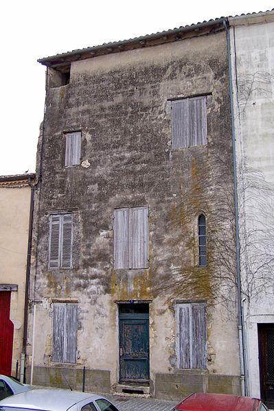 Photo du Monument Historique Maison Seguin situé à La Réole