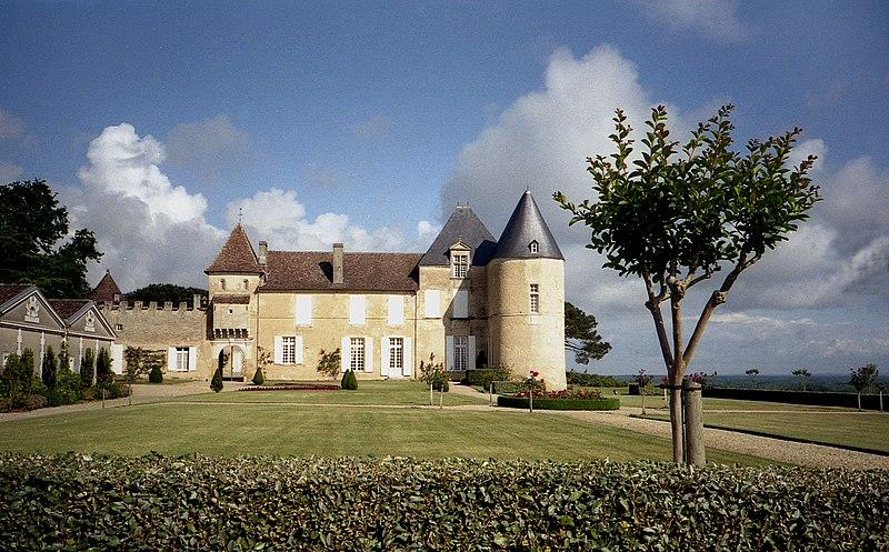Photo du Monument Historique Château d'Yquem situé à Sauternes