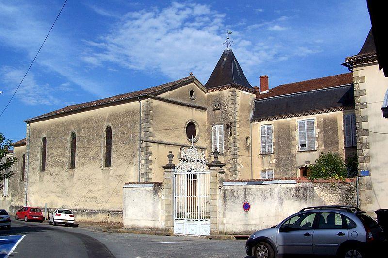 Photo du Monument Historique Ancien hospice situé à Bazas