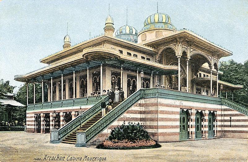 Photo du Monument Historique Casino mauresque situé à Arcachon