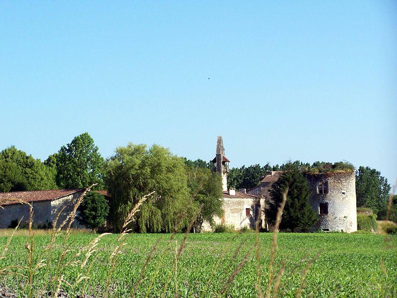 Photo du Monument Historique Château situé à Noaillan