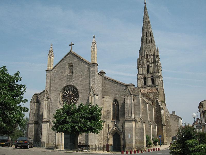 Photo du Monument Historique Eglise Saint-Gervais et Saint-Protais situé à Langon