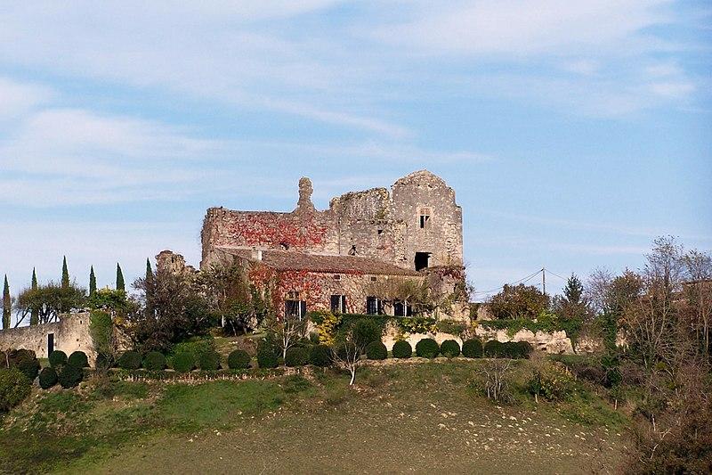 Photo du Monument Historique Château de Caze situé à Saint-Sulpice-de-Guilleragues