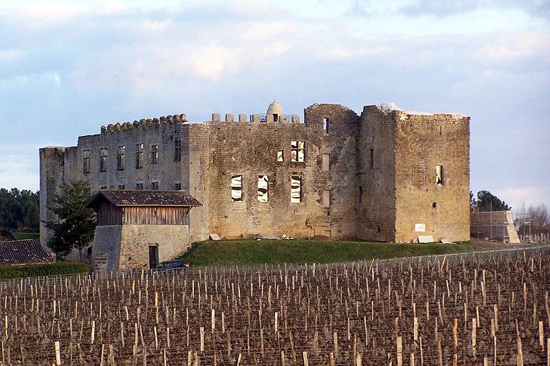 Photo du Monument Historique Château de Fargues situé à Fargues
