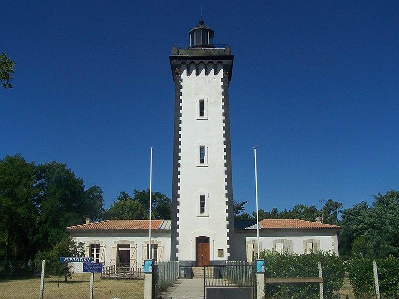 Photo du Monument Historique Phare de la Pointe de Grave situé à Le Verdon-sur-Mer