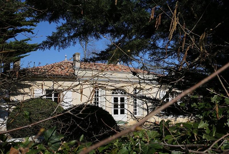 Photo du Monument Historique Domaine du Bourdieu dit Maison Laffitte situé à Mérignac