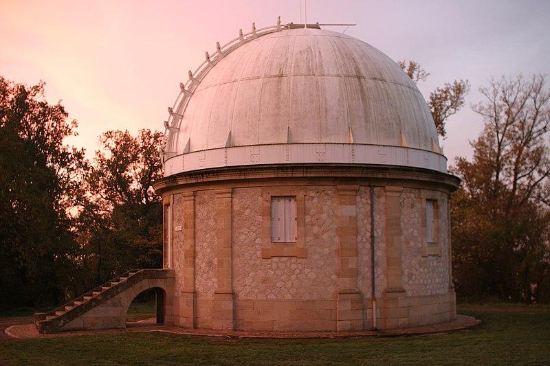 Photo du Monument Historique Observatoire aquitain des sciences de l'univers situé à Floirac