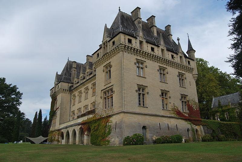 Photo du Monument Historique Château de Pitray situé à Gardegan-et-Tourtirac