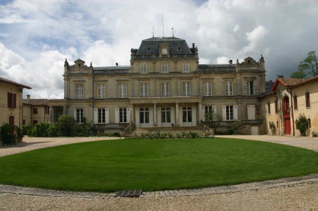 Photo du Monument Historique Château Giscours situé à Labarde