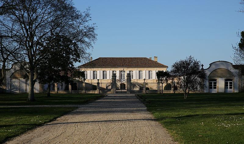 Photo du Monument Historique Château La Lagune situé à Ludon-Médoc