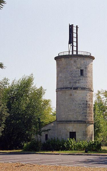 Photo du Monument Historique Tour du télégraphe Chappe situé à Gradignan