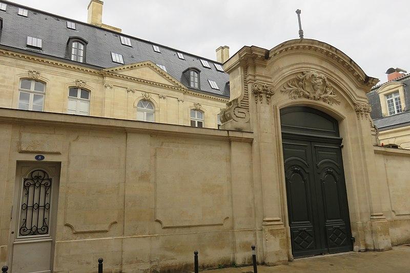 Photo du Monument Historique Hôtel Lecomte de Latresne situé à Bordeaux