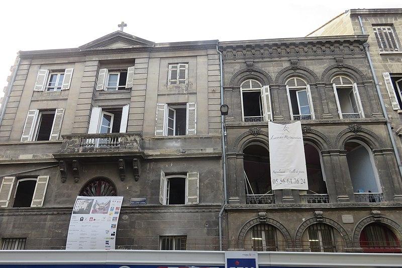 Photo du Monument Historique Hôtel Victoria situé à Bordeaux